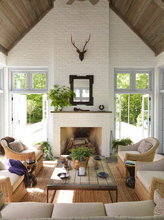 Decorating with Vaulted Ceilings - Redeux Decor