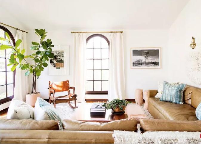 Cali-Cool Living Room Design
