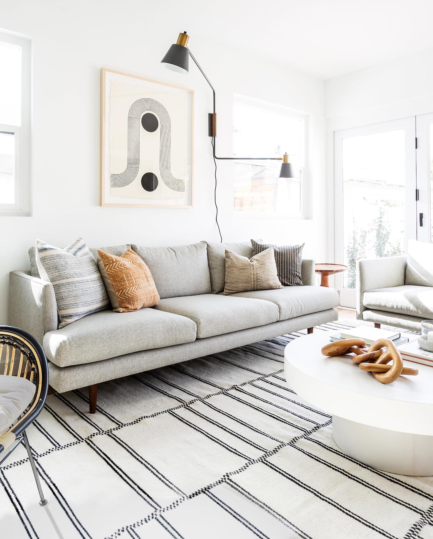 Cool Living Room Decor: Cali-Cool Living Room Design