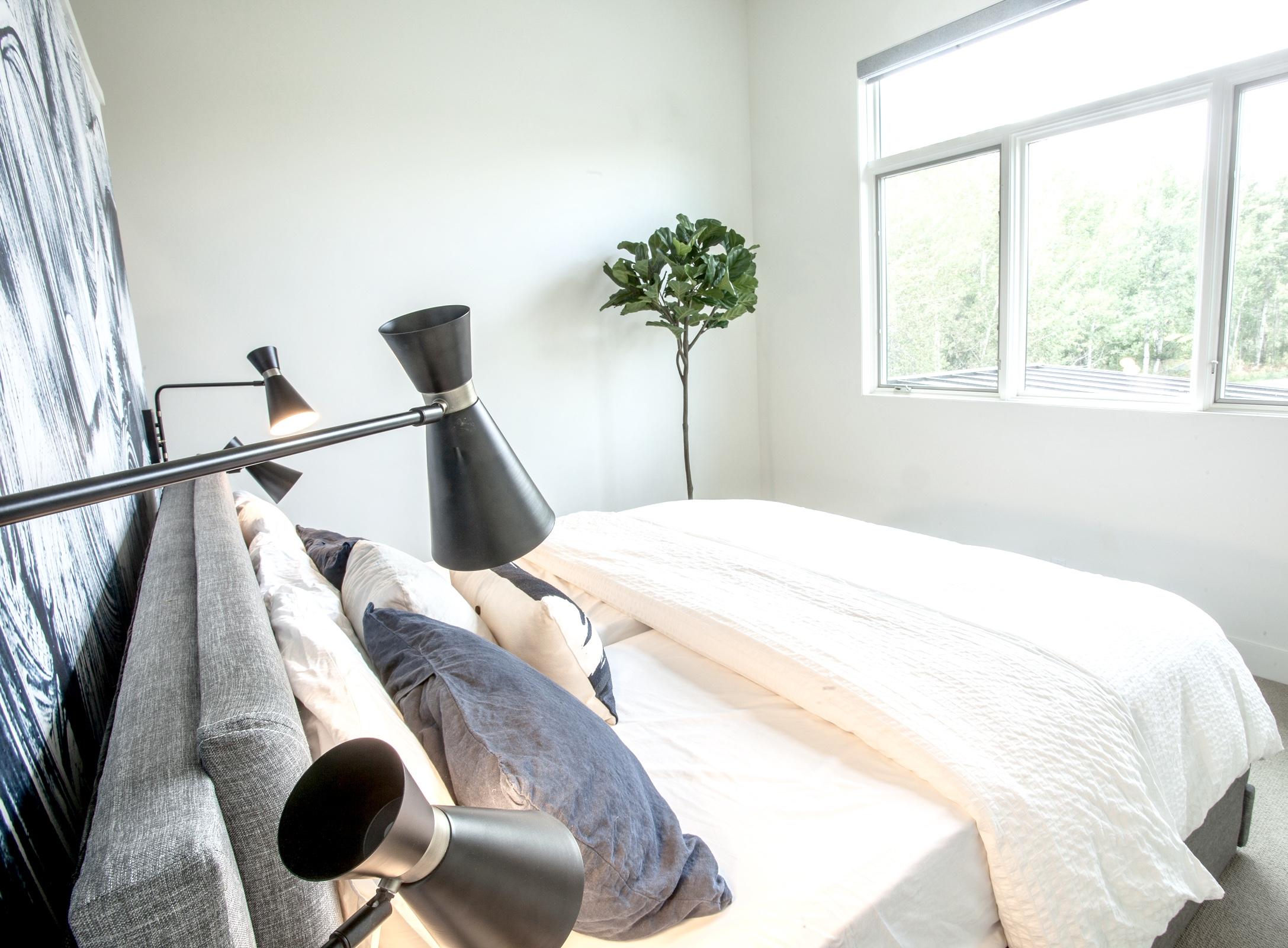 Master bedroom install