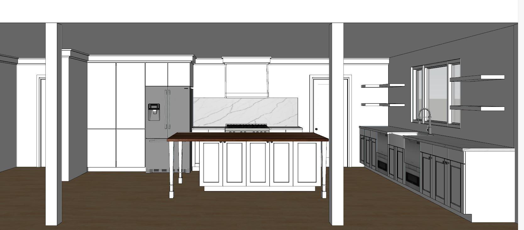 kitchen rendering draft